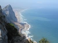 Von dem Gibraltarfelsen aus