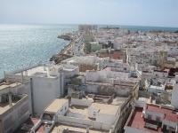 Schöner Überblick über Cadiz