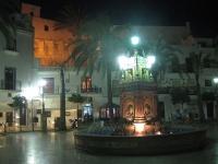 Vejer de la Frontera bei Nacht
