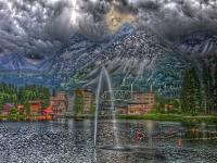 Arosa Schweiz HDR Foto
