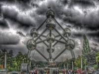 Brüssel Atomium HDR Foto