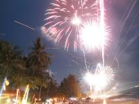 Feuerwerk Koh Samui