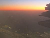 Aus dem Flugzeug über dem Orient