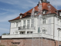Villa Schmidt Wasserfontäne