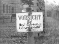Schwarz-Weiss Foto verwischt