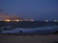Nachtaufnahme Blick auf Gibraltar