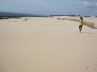 Alleine in der Sahara - Wüstensand