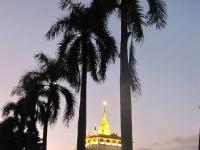 Abenddämmerung golden Mount