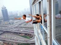 Chinesische gestellte Fotos
