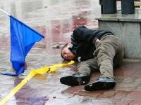 Opfer der Ausschreitungen in Bischkek 2010