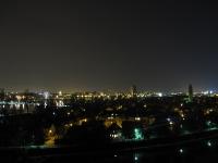 Nachtaufnahme Stadtüberblick