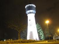 Nachtaufnahme Wasserturm