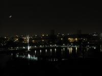 Nachtaufnahme Passerelle