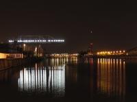 Nachtaufnahme Strasbourg Hafen