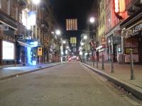 Nachtaufnahme Strasbourg Centre Ville
