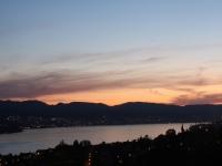 Zürich See bei Nacht