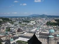 Salzburg - Sicht über die Altstadt