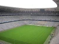 Allianz Arena in München von Innen