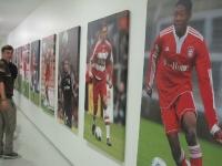 Allianz Arena in München Gang zu Umkleide FC Bayern