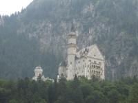 Schloss Neuschwanstein bei Füssen im Allgäu