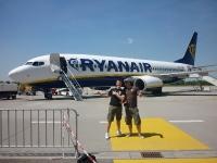 Abflug mit Ryanair nach Trapani Sizilien