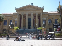 Teatro Massimo in Palermo Sizilien