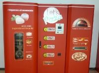 Pizza Automat im Flughafen von Trapani