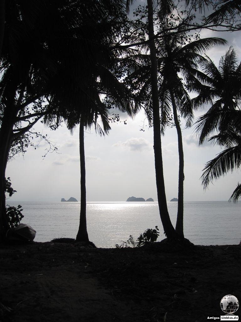 Taling Ngam Beach auf Koh Samui