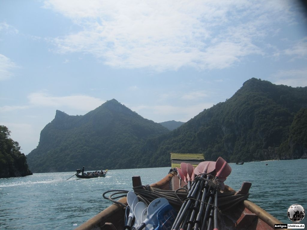 Kayak Fahren in Angthong National Park