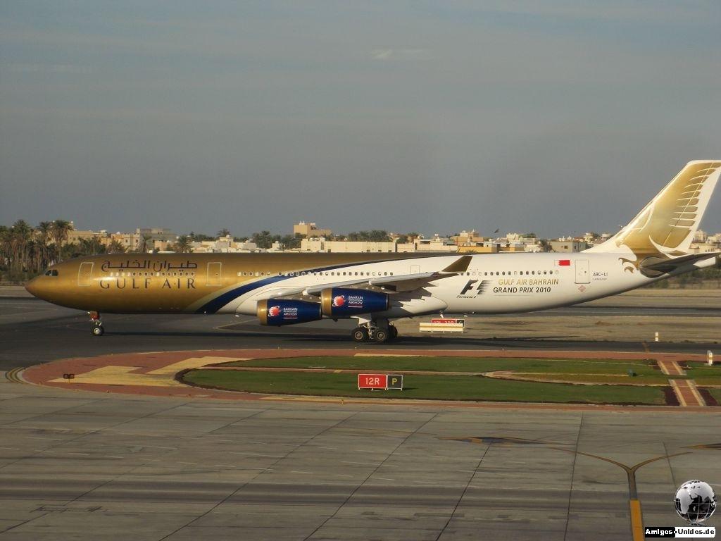 Gulf Air Flieger in Bahrain