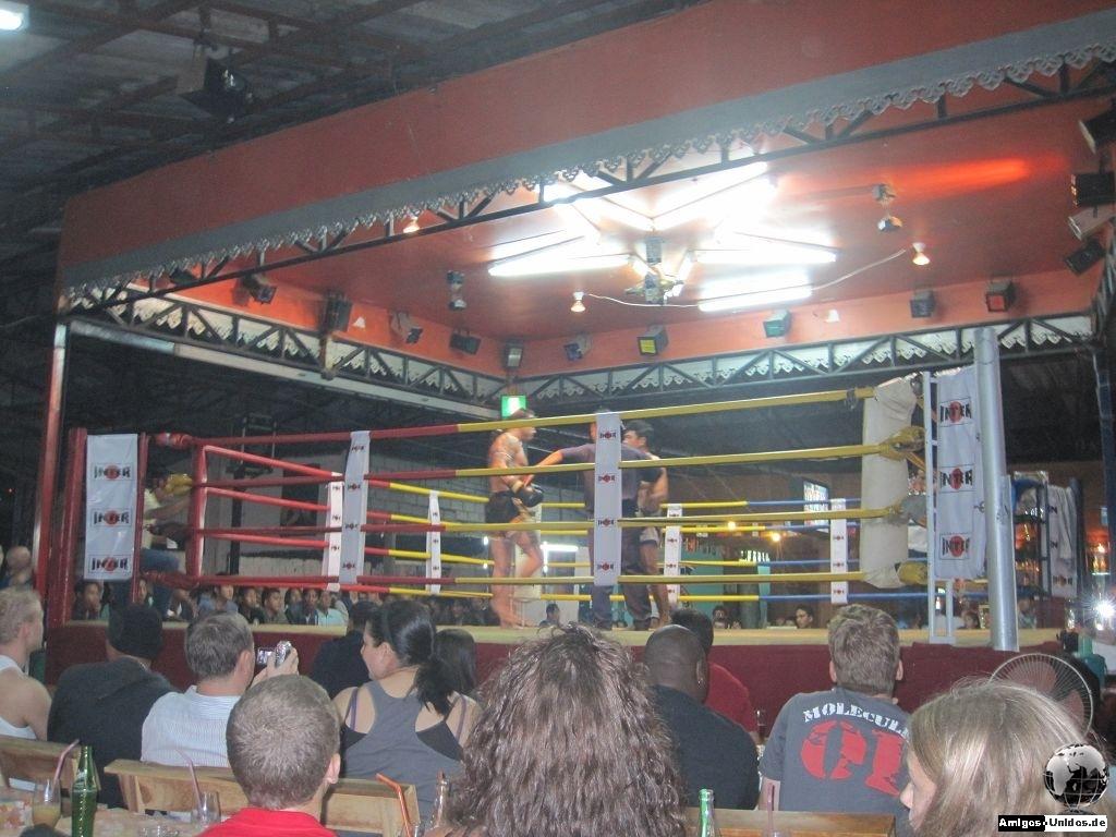 Muay Thai Boxing Stadium in Chiang Mai