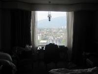 Ausblick über Chiang Mai vom Duangtawan Hotel