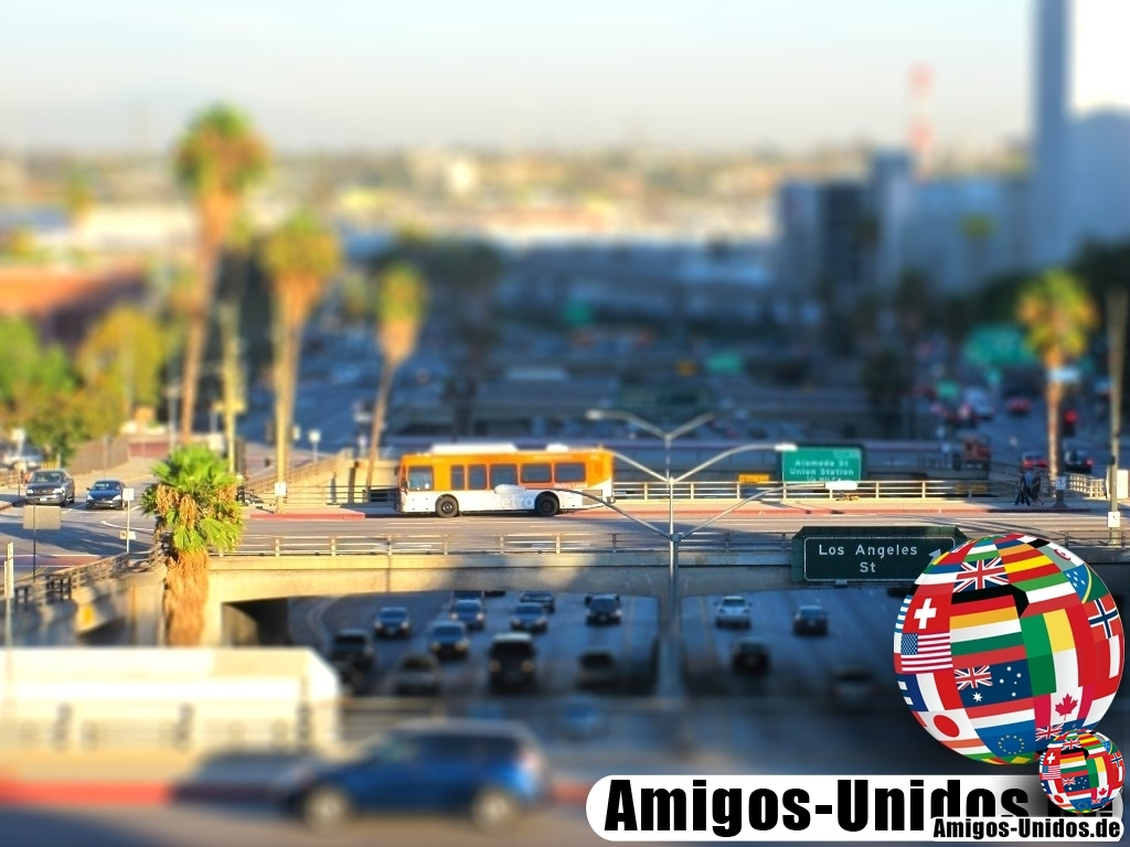 Tilt Shift Fotografie - Los Angeles