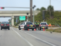 Tilt Shift Fotografie - Police Cars