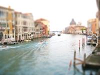 Tilt Shift Fotografie - Venedig
