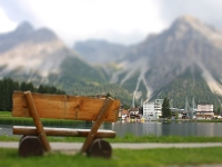 Tilt Shift Fotografie - Schweizer Alpen