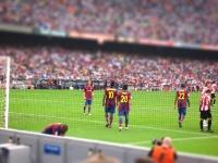Tilt Shift Fotografie - Nou Camp FC Barca