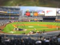 Tilt Shift Fotografie - Yankee Stadium