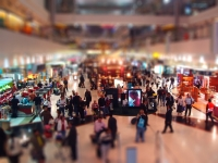 Tilt Shift Fotografie - Dubai Airport