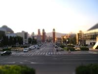 Tilt Shift Fotografie - Barcelona