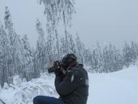 Fotografieren im Schnee