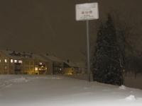 Schneeverwehungen am 24.12.2010