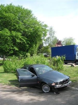 Autounfall Vogesenallee