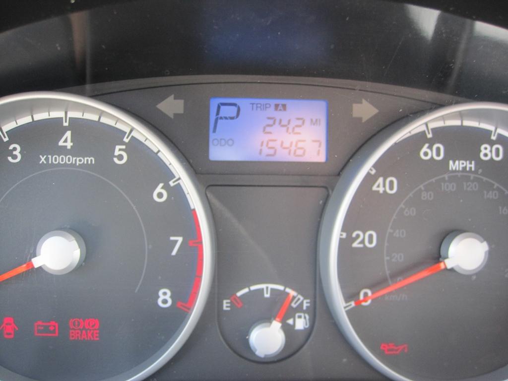 Hyndai Accent - ODO 15.442 Miles beim Start