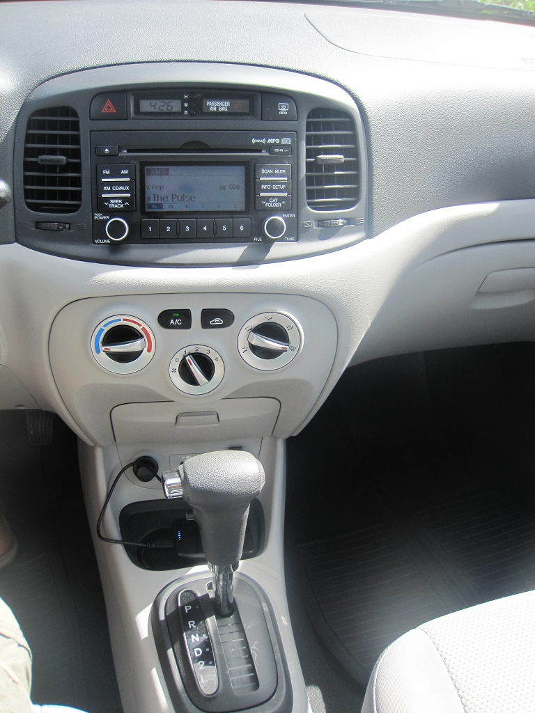 Hyundai Accent Innenausttaung