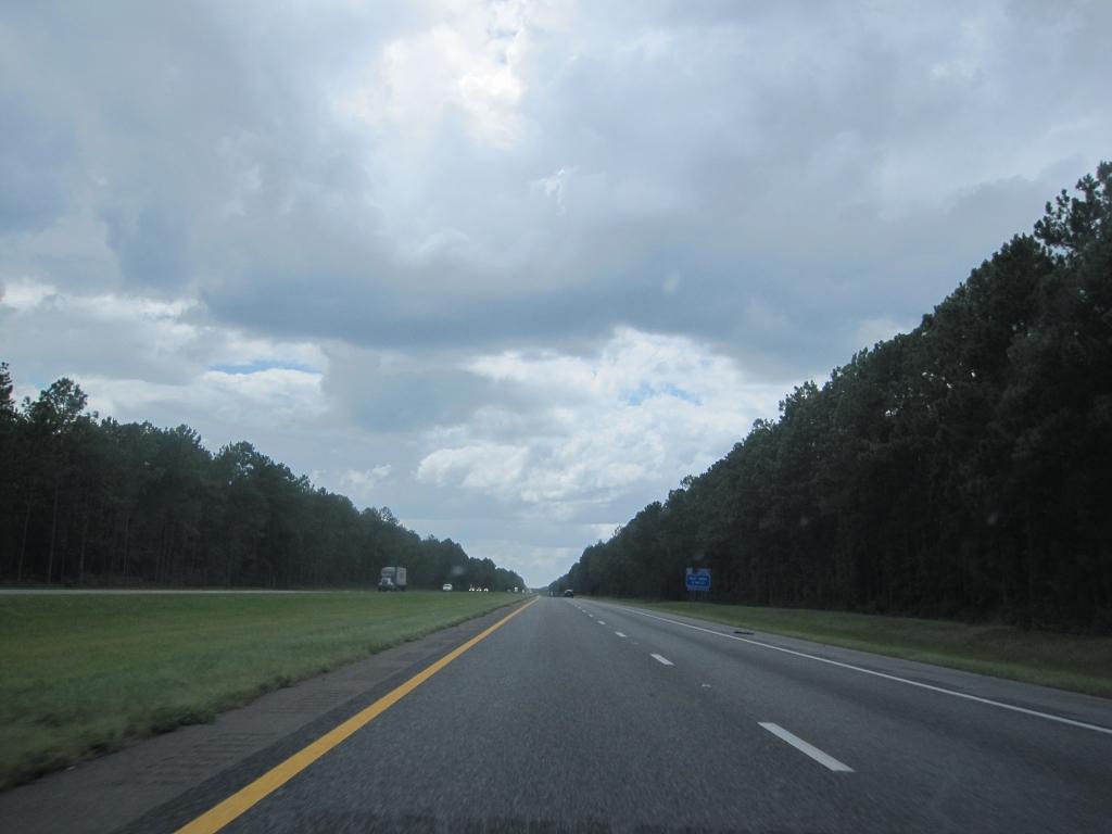 Auf dem Weg Richtung Mobile Bay - Interstate 10