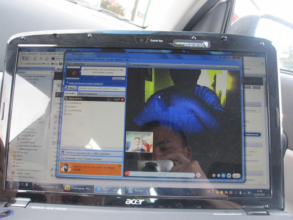 Chatten über Skype
