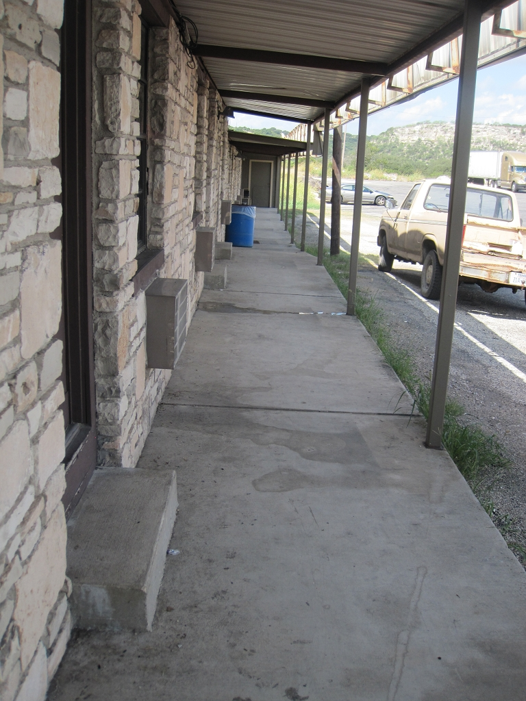 29,99$ Motel mitten in Texas