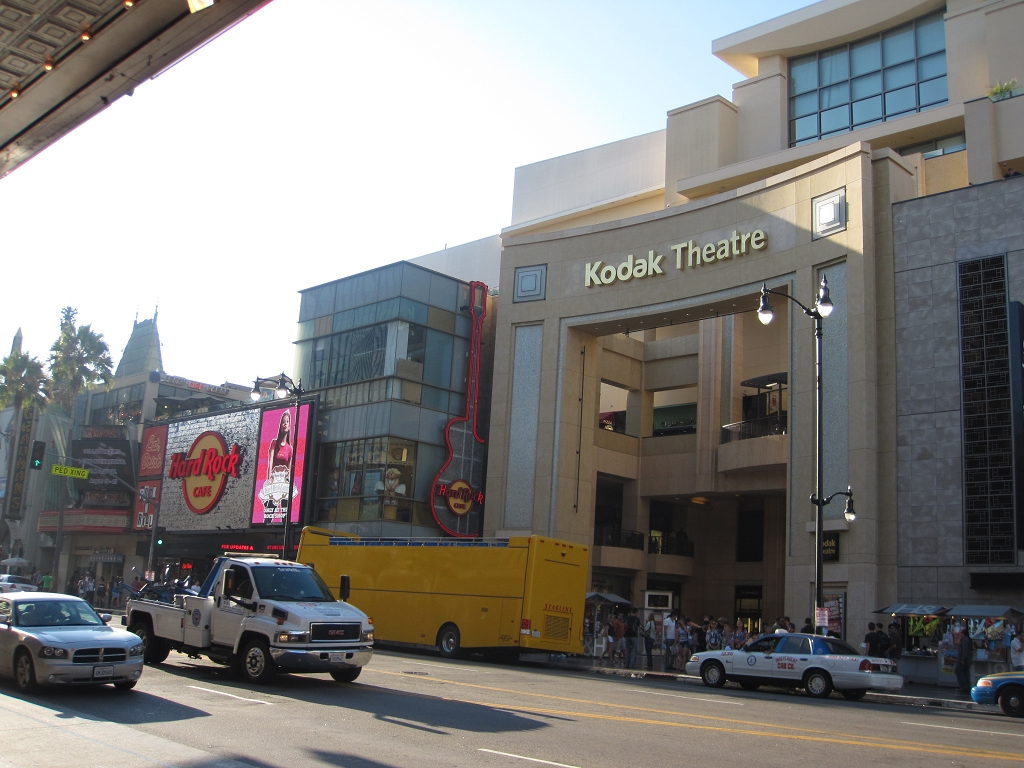 Hollywood Boulevard in Los Angeles - Kodak Theater