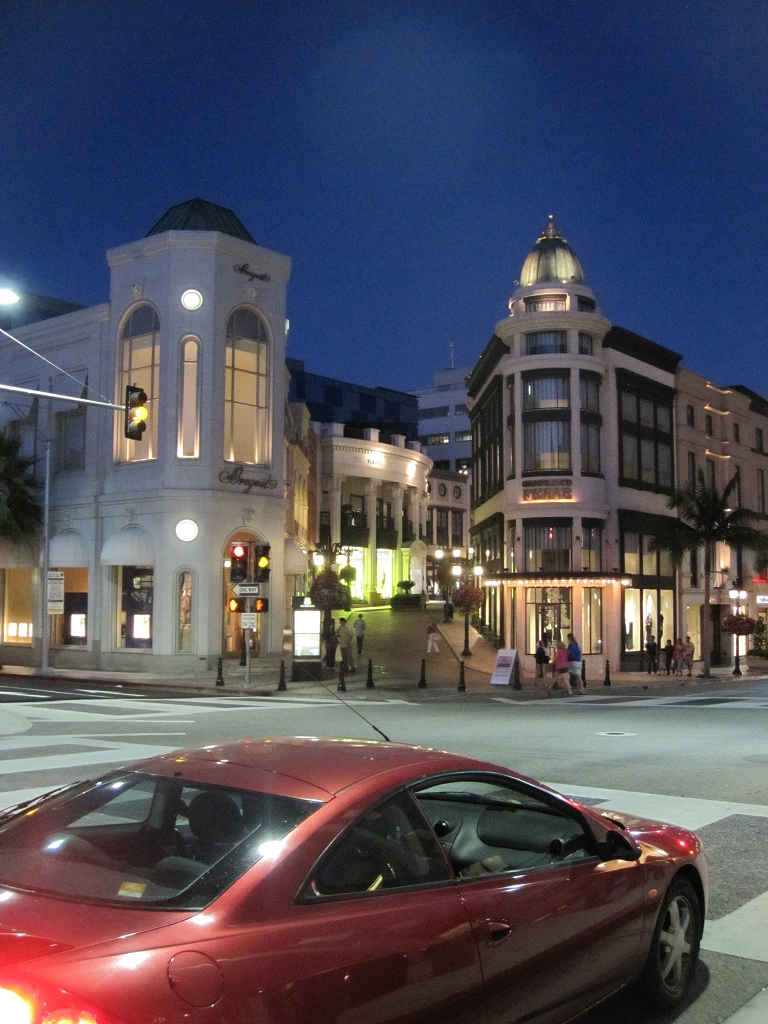 Rodeo Dr. in Los Angeles